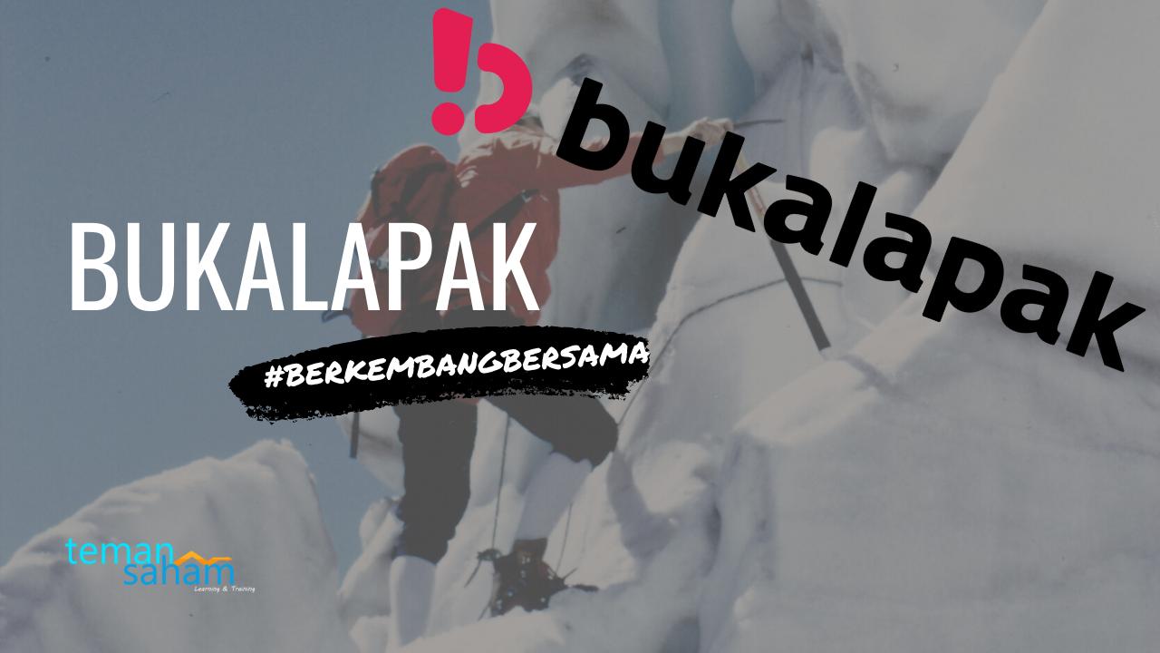Saham BUKA , Peluang Persaingan Bukalapak Dalam Bisnis Toko Online
